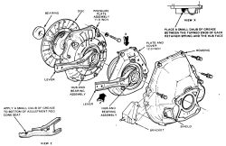 1986 ford f150  i find out how to put a new clutch  old