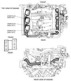 4or2a Hyundai Santa Fe Limited Car Misfires When Humid Raining moreover T8822859 Need firing order in addition 2d7fb Replace Six Spark Plugs 3 5l Santa as well Where Is Fuel Filter On Mitsubishi Galant as well T14591272 Diagram put spark plug cables vortec. on hyundai santa fe spark plugs diagram