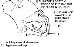 1cfy8 1995 Buick Regal Custom Air Bag Steering Wheel Controls