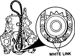 Engine Balance Shaft Chain