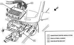 95 Chevy S10 Knock Sensor Location