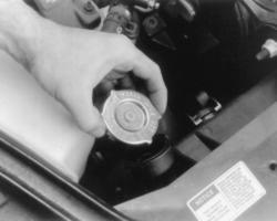 C E on Buick Century Thermostat