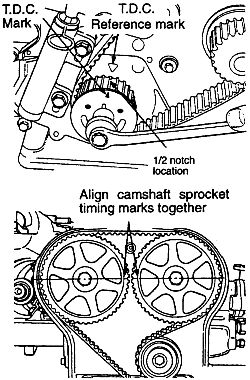 i m replacing a timing belt on a 2 0 dohc non turbo in what rh justanswer com