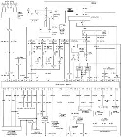 I find a full    wiring       diagram    for a 1992    chrysler    new Yorker