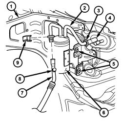 1bhxd Air Conditioning System Low likewise T9579737 Bad camshaft position sensor together with Why does my air conditioner Heater fan only work on High additionally Dodge Caravan Speed Sensor Location furthermore 1996 Dodge Caravan Belt Diagram. on wiring diagram for 1997 dodge grand caravan